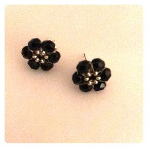 Jewelry - Flowers earrings. Silver